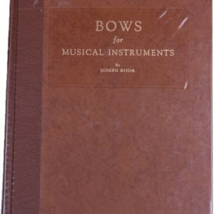 Bows for Musical Instruments